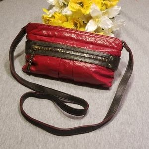 Authentic See By Chloé Red Daytripper Crossbody